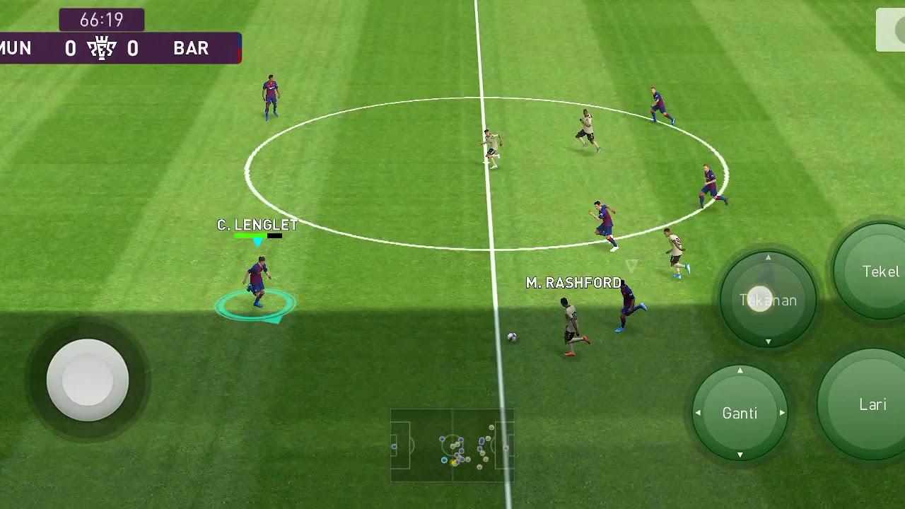 Pess2020 Man Utd vs barcelona