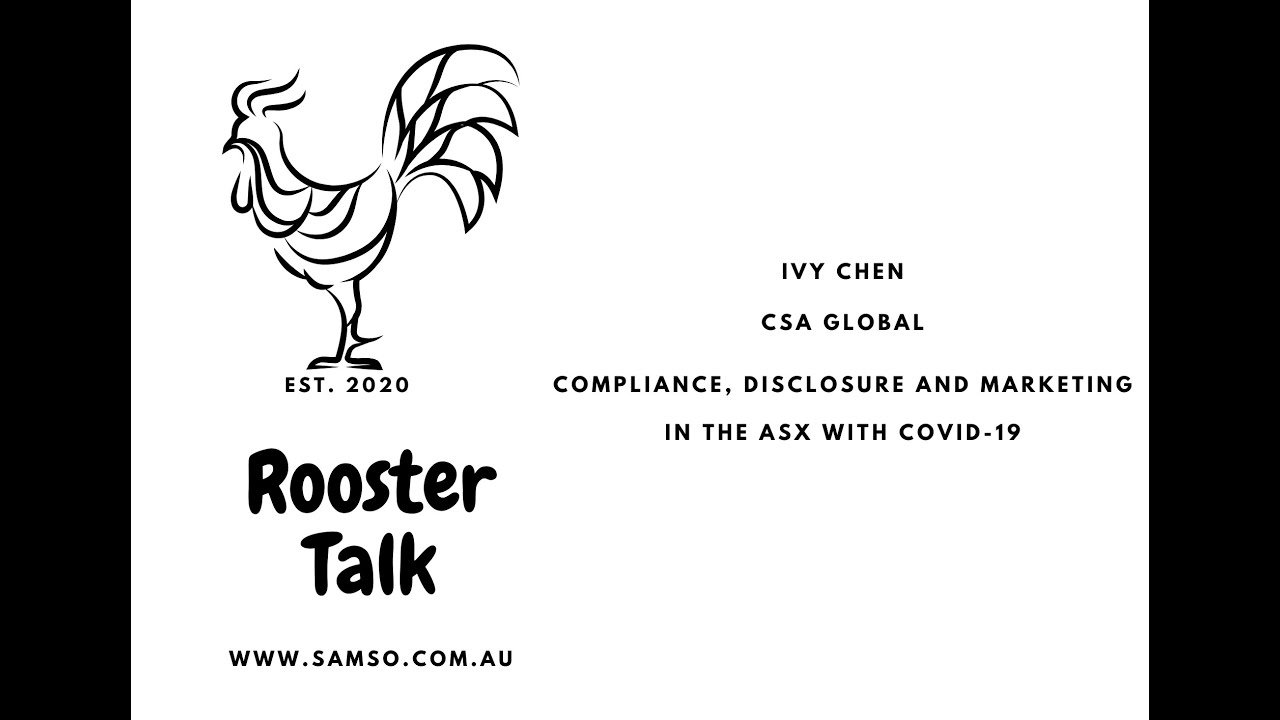 Compliance, Disclosure and Marketing in the ASX with COVID-19
