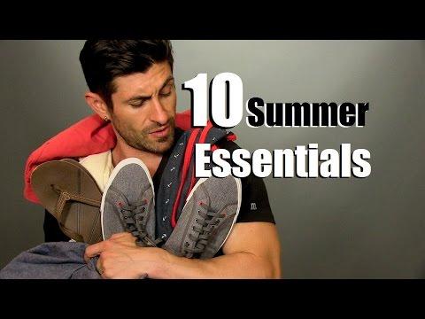 10 Summer Style Essentials | Men's Summer Outfit Ideas