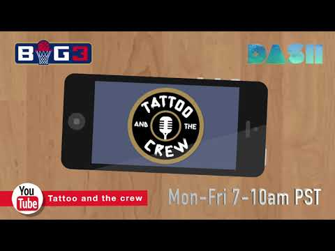 Tattoo And The Crew LIVE On Dash Radio App