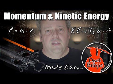 Kinetic Energy vs. Momentum for CROSSBOW HUNTERS!