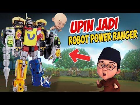 upin-ipin-jadi-robot-power-ranger-besar-,-ipin-senang-!-gta-lucu