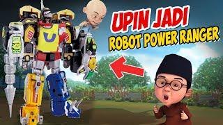 Upin ipin jadi Robot Power Ranger Besar , ipin senang ! GTA Lucu