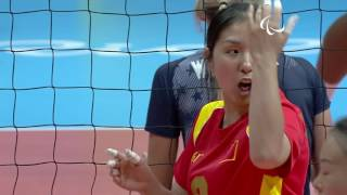 Sitting Volleyball | USA v China | Women's Final - Gold Victory Match | Rio 2016 Paralympic Games