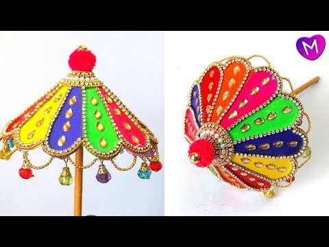 How to make Ganesh Umbrella | Ganesh Umbrella Making | ganesh chaturthi |ganpati umbrella decoration