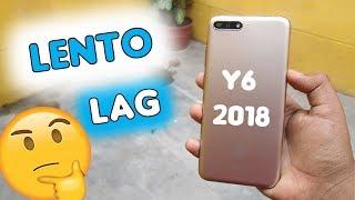 Huawei Y6 2018 LENTO | Solución