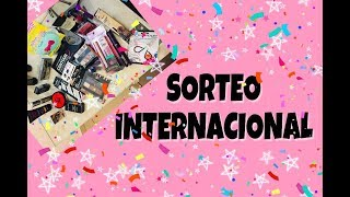 SORTEO INTERNACIONAL LINDAS COSITAS//SARA DICE