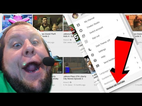 Youtube Update 2017! How To Restore The OLD Youtube!