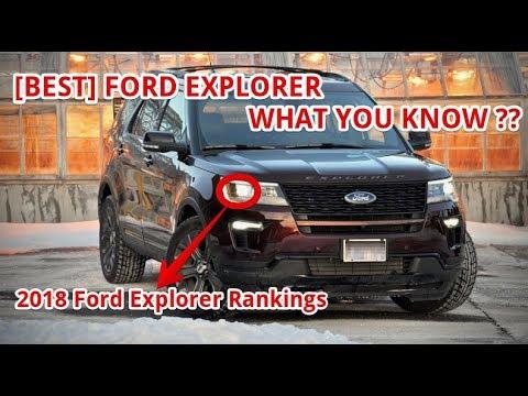 [BEST] 2018 Ford Explorer Rankings