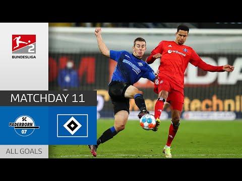 Paderborn Hamburger Goals And Highlights