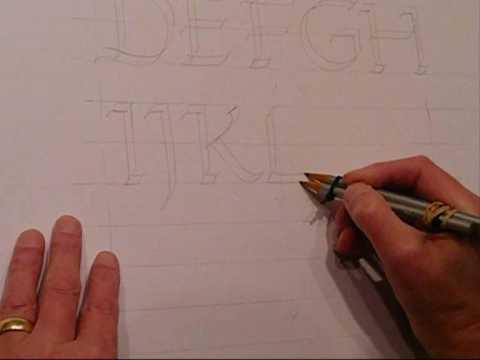 calligradoodles_ 0003 A Roman Alphabet