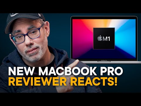 Apple Silicon MacBook Pro (M1) — Tech Reviewer Reacts!