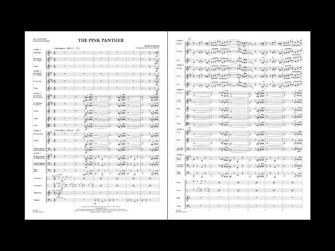 The Pink Panther by Henry Mancini/arr. Michael Brown