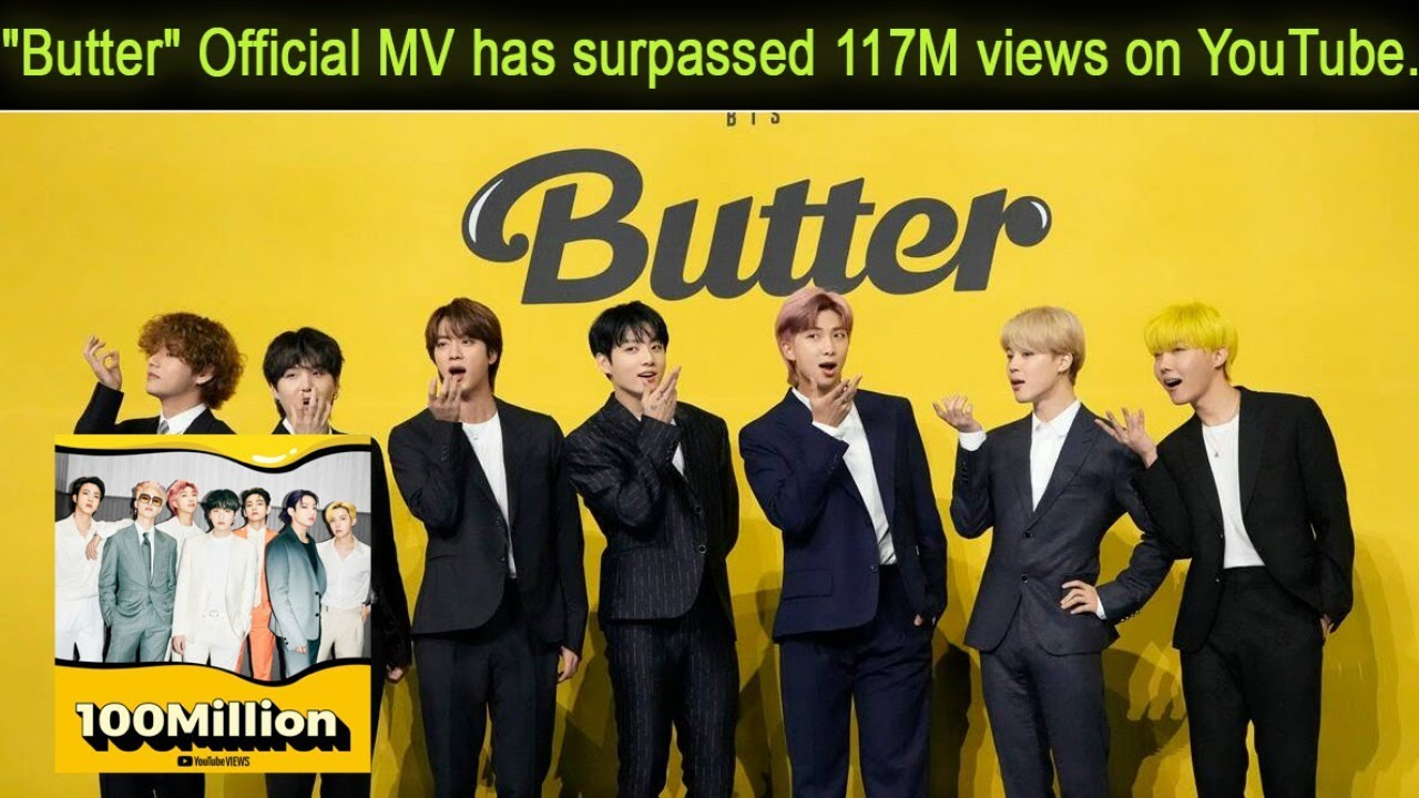 BTS's 'Butter' Breaks 24-Hour YouTube Debut Record (For Now)