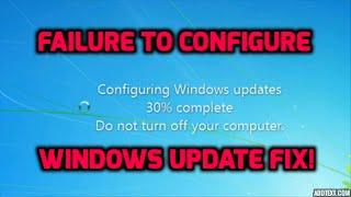 Failure to configure windows update fix!