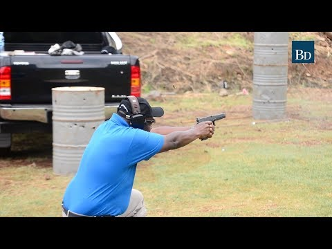 Shooting range gains popularity among rich Kenyans