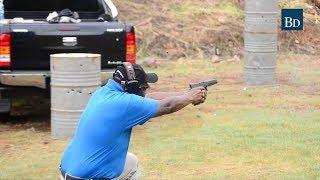 Shooting range gains popularity among rich Kenyans