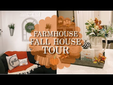 FARMHOUSE FALL HOUSE TOUR | FARMHOUSE DECOR INSPIRATION