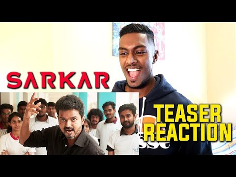 Sarkar Teaser Reaction & Review | Thalapathy Vijay | PESH Entertainment