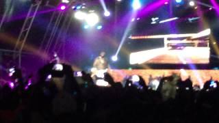 "Rick Ross cantando ""I'ma boss"" em Angola"