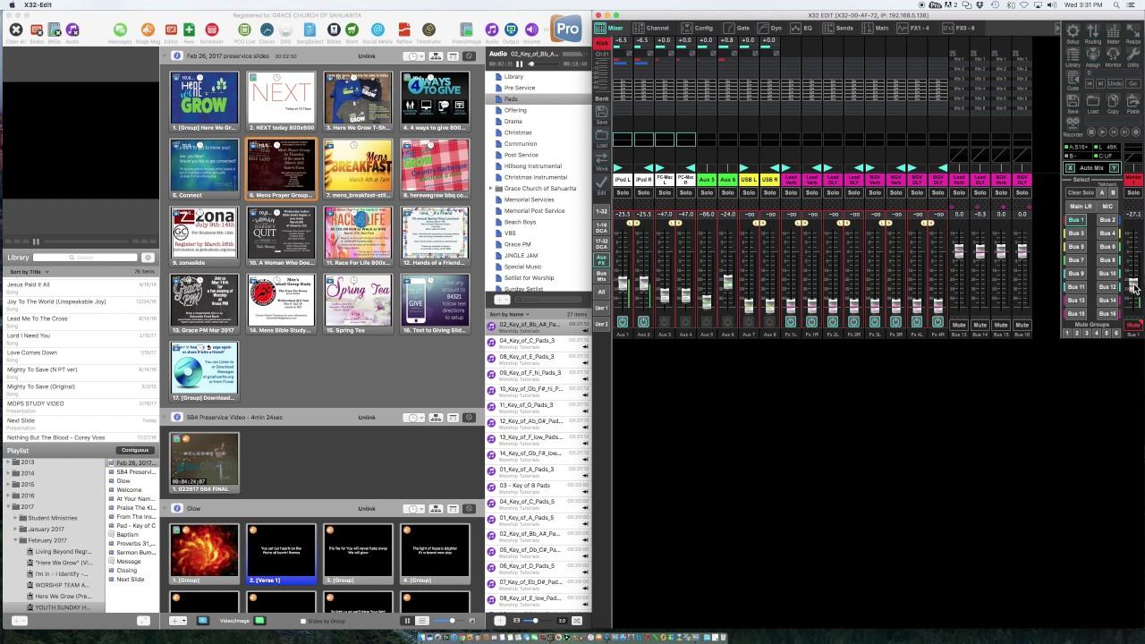 behringer x32 rack software download