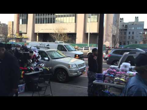 Harlem in front of Studio Museum - March 11, 2016