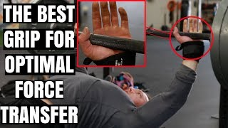 Grip Trick For Optimal Force Transfer In Bench | How To ACTUALLY Wrap Wraps (you