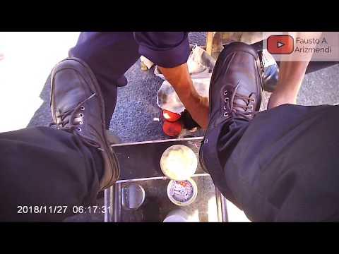 Shoe shine muddy shoes Mexico/Lustrada Zapatos lodosos Mexico