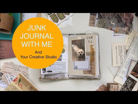 Your Creative Studio Unboxing And Junk Journal With Me - Creative Memory Keeping