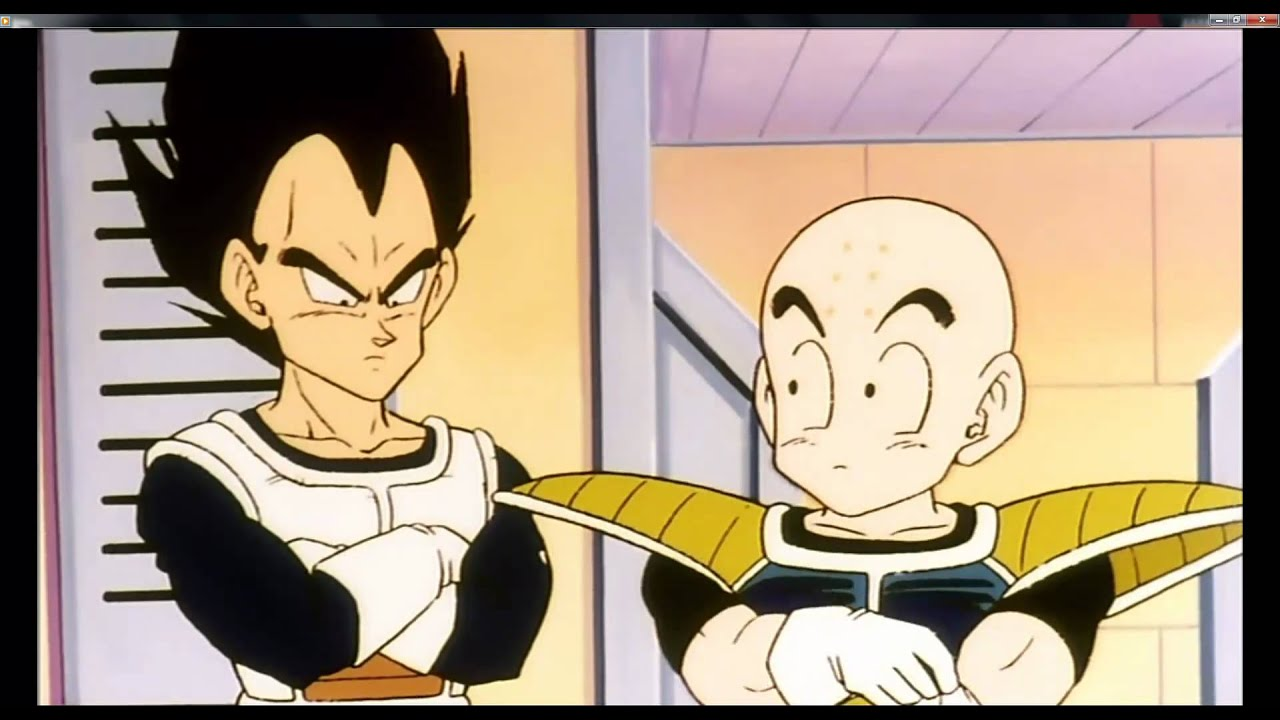 Krillin Gets Owned By Vegeta 1080p Hd Youtube