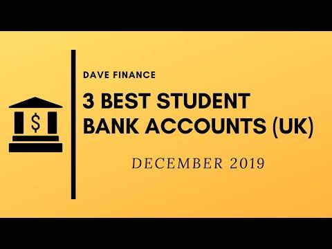 Top 3 UK Student Bank Accounts (December 2019)