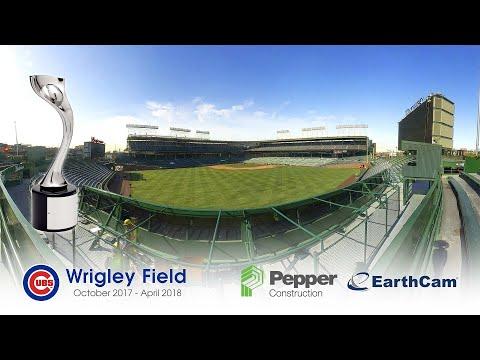 Wrigley Field Renovation 4K Time-Lapse