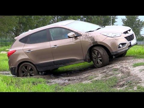 4x4 Hyundai Tucson ix35 offroad ride test