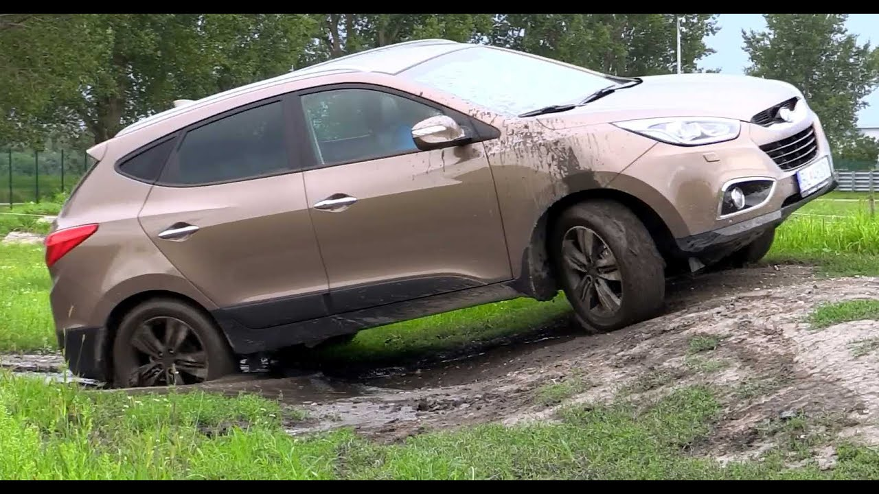4x4 Hyundai Tucson Ix35 Offroad Ride Test YouTube
