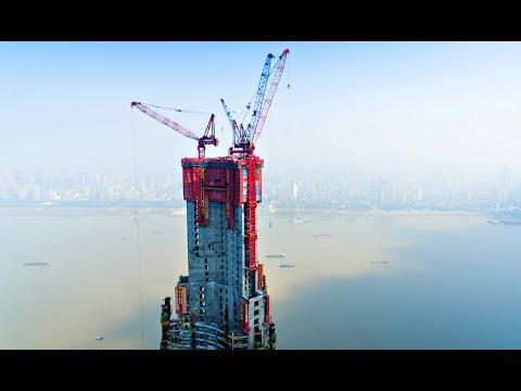 Китайцев уже не догнать: Машина для строительства небоскребов