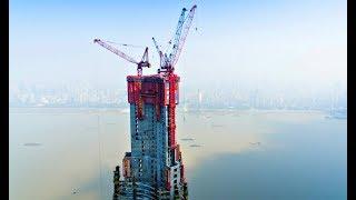 видео: Китайцев уже не догнать: Машина для строительства небоскребов