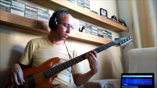 Lunik  - Let Go -  bass cover