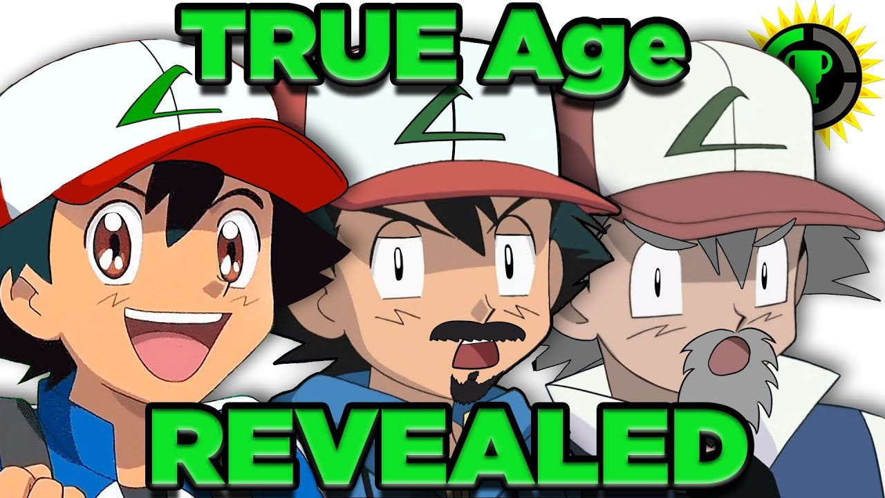 Game Theory: Ash's Age FINALLY Solved! (Pokemon) #1