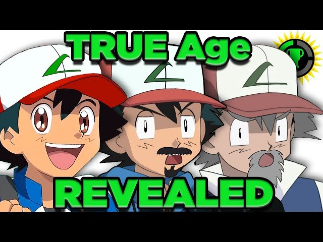 Game Theory: Ash\'s Age FINALLY Solved! (Pokemon)