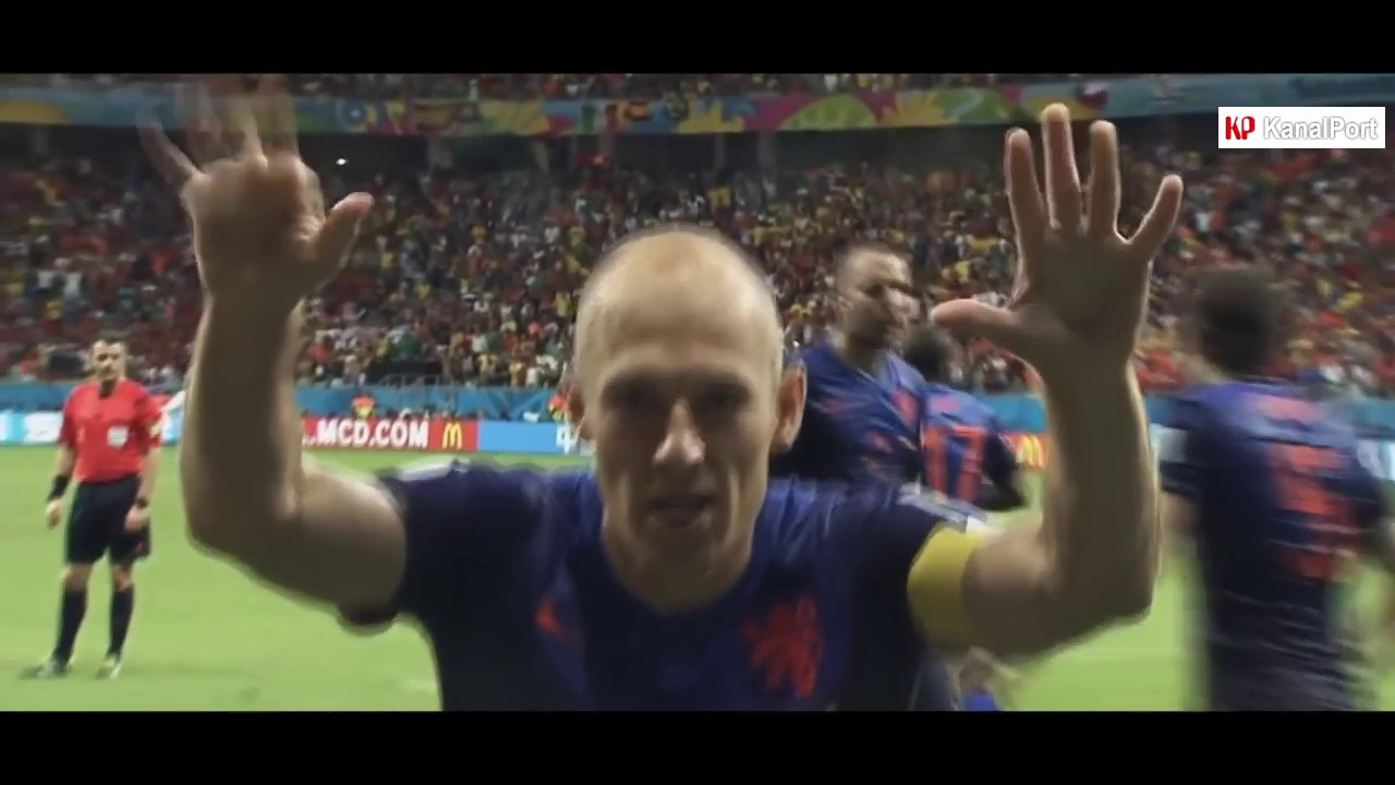 Arjen Robben S World Record Speed Magic Goals And Skills