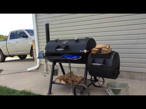 Smoked Burgers On The Oklahoma Joe's Highland