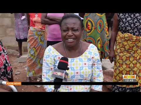 Four suspects beaten for destroying house belonging to a disabled woman at Asafo -  Adom TV (21-9-21
