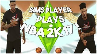 SIMS PLAYER PLAYS 2K AND KILLS IT!
