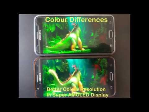 Samsung J7 Prime Vs Samsung J7 (PLS TFT VS SUPER AMOLED ) Display