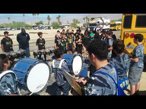 Drum battle, Coachella high school vs brawley union high school