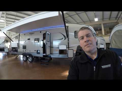 2017 Keystone Hideout 281dbs Bunk House Fifth Wheel With