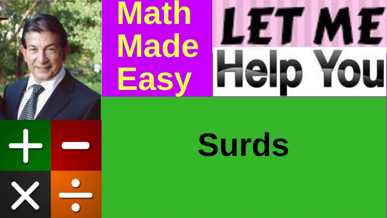 surds real number and square root Finding distances and lengths often involves a type of square root called a how to calculate with surds results in an irrational number, this root is called.