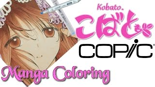 Copic Marker Drawing: Kobato coloring
