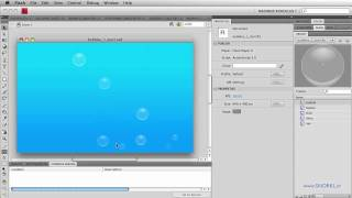 Part 2: Flash Bubbles: Paricle Systems with TimelineMax : Random Wiggles