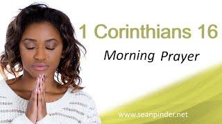 A SEASON OF OPEN DOORS - 1 CORINTHIANS 16 - MORNING PRAYER